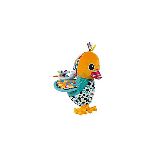 Lamaze Play & Grow Waddling Wade Duck Plush Carseat Toy