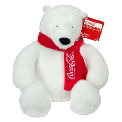 "Coca Cola 12"" Polar Bear Stuffed Animal"