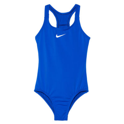 Nike One Piece Swimsuit Big Kid Girls
