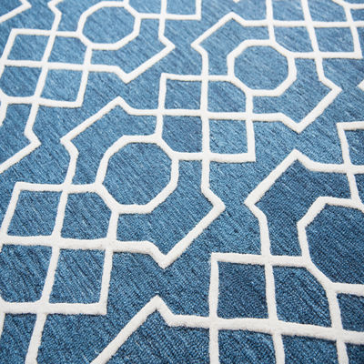 Rizzy Home Idyllic Collection Daisy Geometric Rectangular Rugs