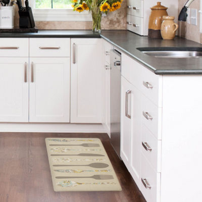 Laura Ashley Hereford Ware Anti-Fatigue Gelness Kitchen Mat