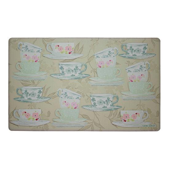 Laura Ashley Tea Party Anti-Fatigue Gelness Kitchen Mat