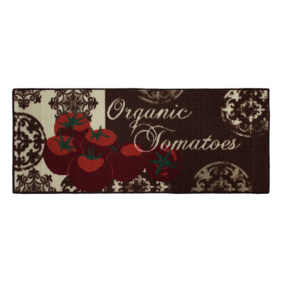 Structures Tomatoes Textured Loop Kitchen Mat