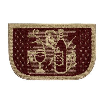 Structures Wine Tasting Textured Loop Wedge Kitchen Mat