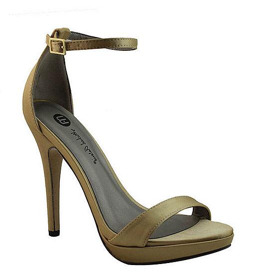 28830b164fd7f Michael Antonio Lovina Ankle Strap Satin Platform Sandals JCPenney