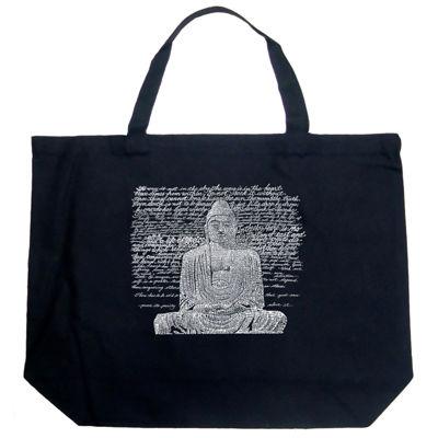 Los Angeles Pop Art Zen Buddha Tote
