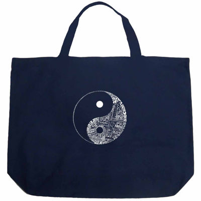 Los Angeles Pop Art Yin Yang Tote