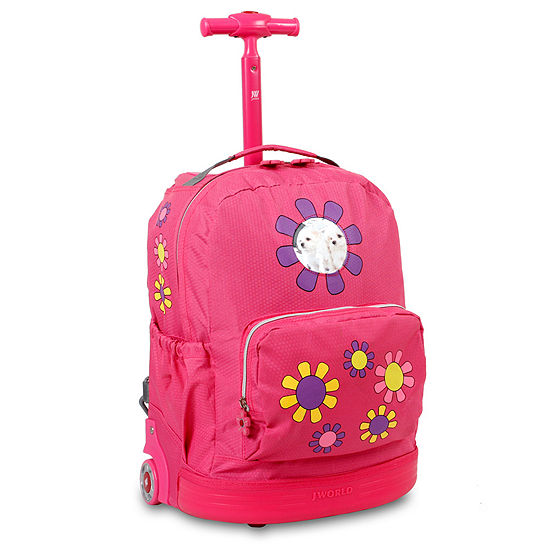 J World Daisy Wheeled Backpack