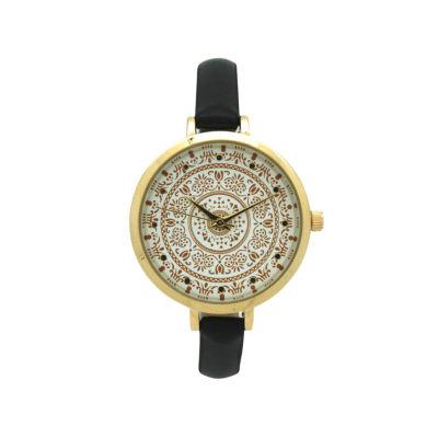 Olivia Pratt Womens Blue Strap Watch-16849navy