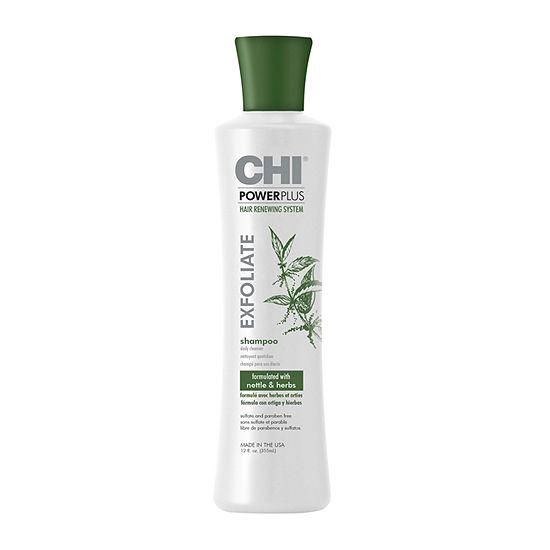 Chi Styling Powerplus Exfoliate Hair Loss Treatment Shampoo-12 oz.