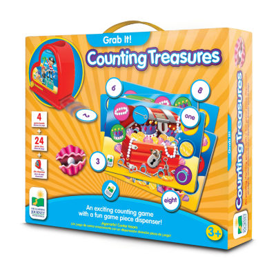 The Learning Journey Grab It! - Counting Treasures