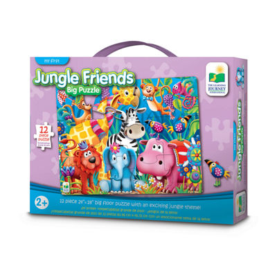 The Learning Journey My First Big Floor Puzzle - Jungle Friends
