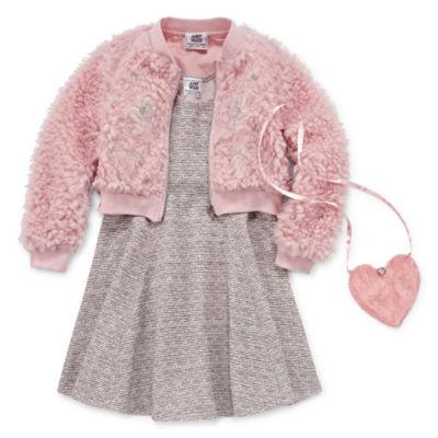 Knit Works 2-pack Jacket Dress Preschool Girls