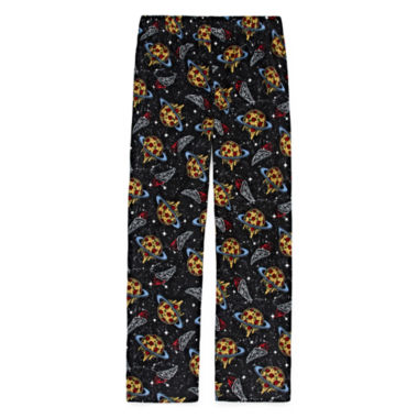 Space Pizza Fleece Pajama Pant - Boys 4-20