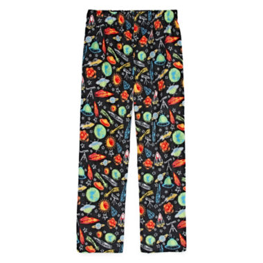 Space Print Fleece Pajama Pant - Boys 4-20