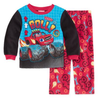Blaze 2-pc. Blaze and The Monster Machines Pajama Set Boys