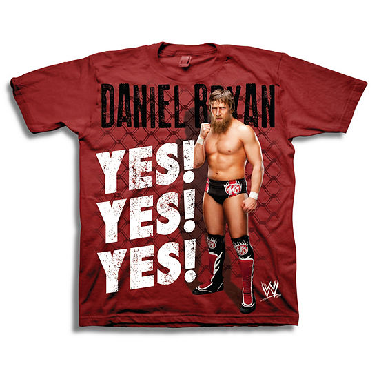 Wwe Short Sleeve Tees Boys Crew Neck Short Sleeve WWE Graphic T-Shirt - Preschool