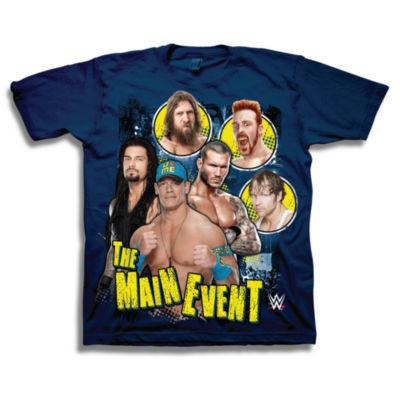 WWE Short Sleeve Tees Graphic T-Shirt-Preschool Boys