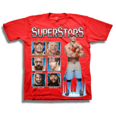 Wwe Short Sleeve Tees WWE Graphic T-Shirt-Preschool Boys