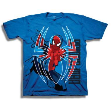 Marvel Short Sleeve Tees Marvel Graphic T-Shirt-Preschool Boys