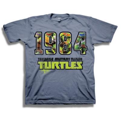 Tmnt Short Sleeve Tees Teenage Mutant Ninja Turtles Graphic T-Shirt-Big Kid Boys