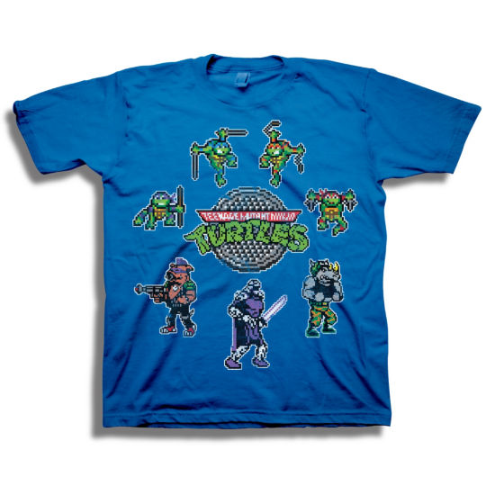 Short Sleeve Tees Teenage Mutant Ninja Turtles Graphic T-Shirt-Big Kid Boys