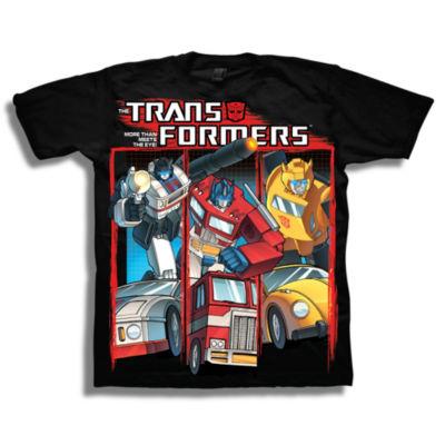 Transformers Short Sleeve Tees Transformers Graphic T-Shirt-Preschool Boys