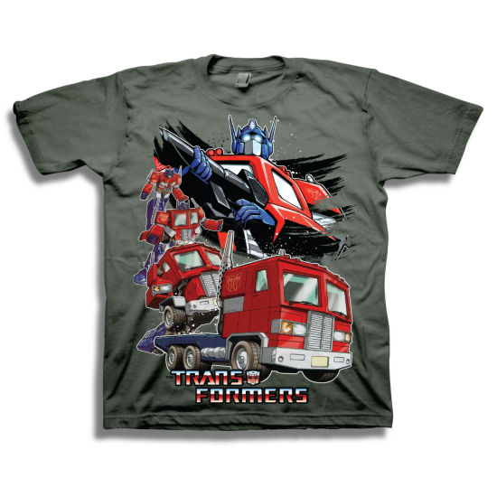 Transformers Short Sleeve Tees Transformers Graphic T-Shirt-Preschool Boys