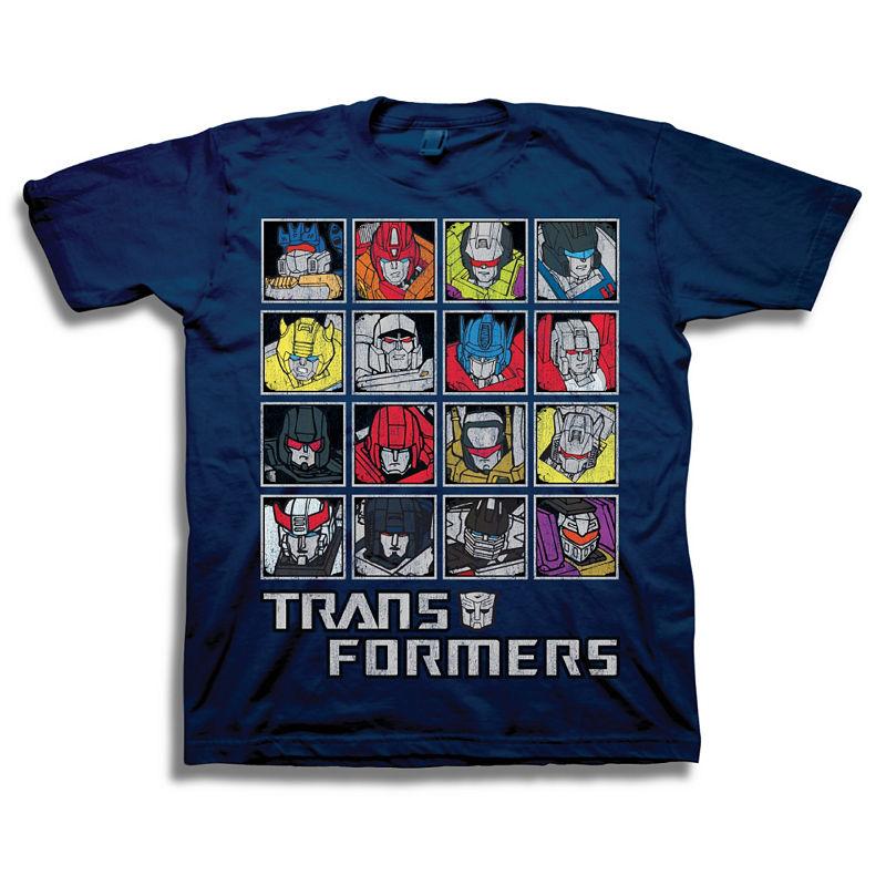 image of Freeze Transformers Short Sleeve Tees Transformers Graphic T-Shirt-Preschool-ppr5007557819