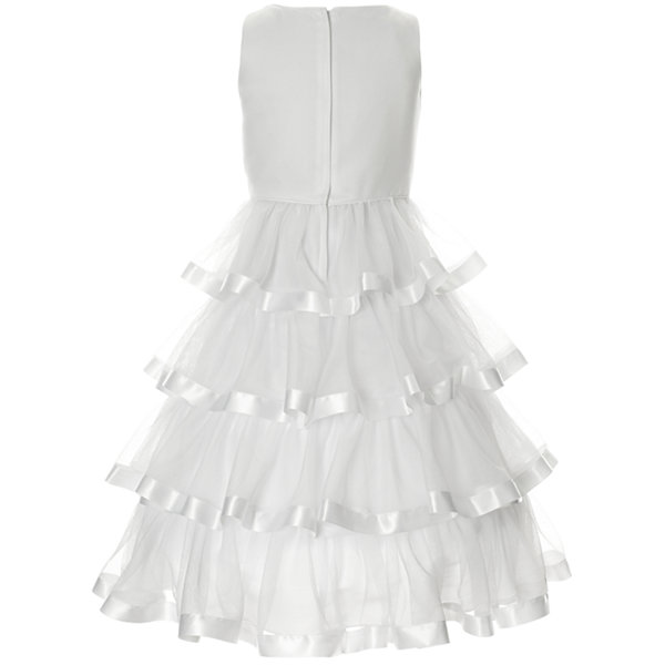 Keepsake Embellished Sleeveless Tutu Dress - Preschool Girls