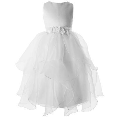 Keepsake Sleeveless Applique Tutu Dress - Preschool Girls