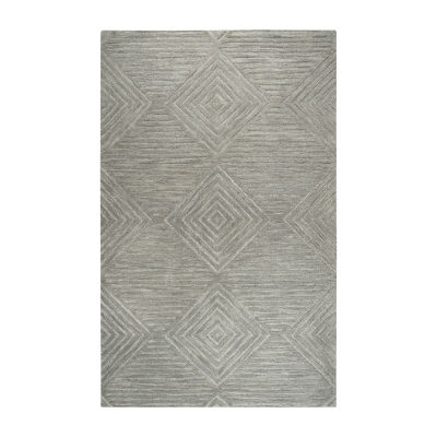 Rizzy Home Idyllic Collection Allison Solid Rectangular Rugs
