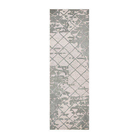 Rizzy Home Idyllic Collection Genevieve Grid Rectangular Rugs