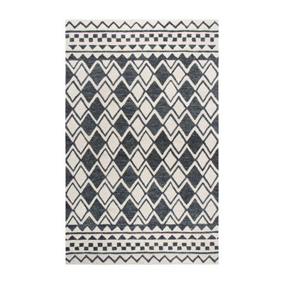 Rizzy Home Idyllic Collection Harmony Geometric Rectangular Rugs