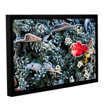 Brushstone Frosty Scene Gallery Wrapped Floater-Framed Canvas