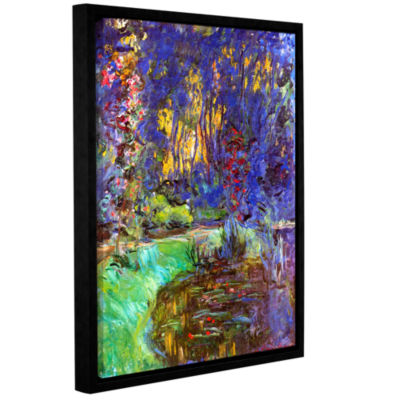 Brushstone Giverny Gallery Wrapped Floater-FramedCanvas