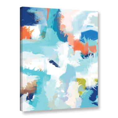 Brushstone Going Somewhere Gallery Wrapped Canvas