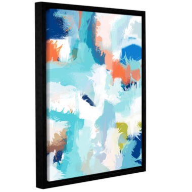 Brushstone Going Somewhere Gallery Wrapped Floater-Framed Canvas