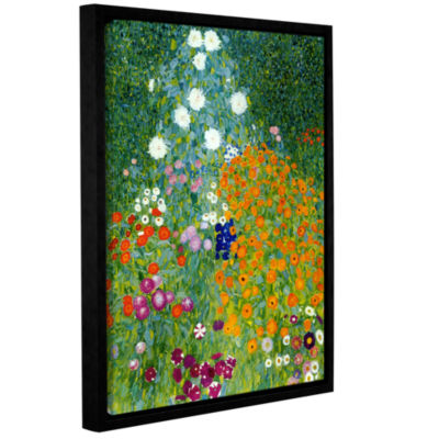 Brushstone Garden Gallery Wrapped Floater-Framed Canvas