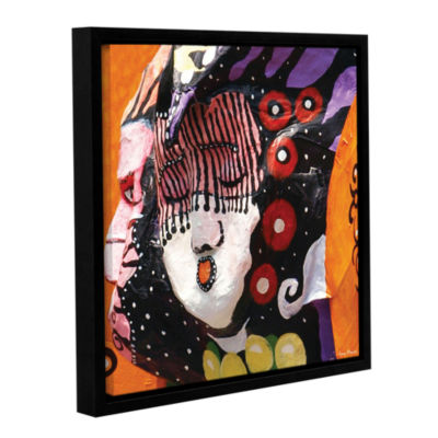 Brushstone Global Gallery Wrapped Floater-Framed Canvas