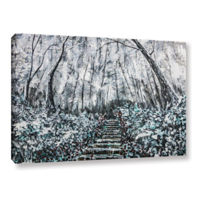 Brushstone Frozen Memories Gallery Wrapped Canvas