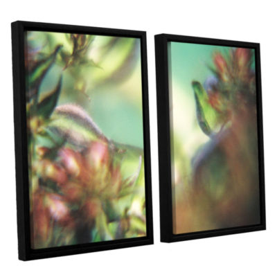 Brushstone Phlox Old Masters 2-pc. Floater FramedCanvas Wall Art