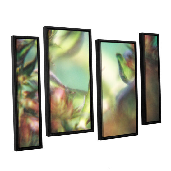 Brushstone Phlox Old Masters 4-pc. Floater FramedStaggered Canvas Wall Art