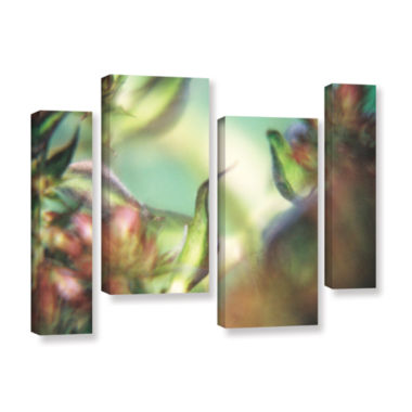 Brushstone Phlox Old Masters 4-pc. Gallery WrappedStaggered Canvas Wall Art