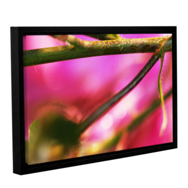 Brushstone Summer Dew Gallery Wrapped Floater-Framed Canvas Wall Art