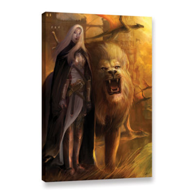 Brushstone Guardians Gallery Wrapped Canvas Wall Art