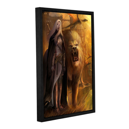 Brushstone Guardians Gallery Wrapped Floater-Framed Canvas Wall Art