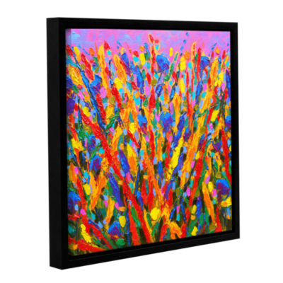 Brushstone Growing Wild Gallery Wrapped Floater-Framed Canvas Wall Art