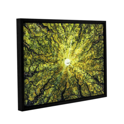 Brushstone Hallow's Prelude Gallery Wrapped Floater-Framed Canvas Wall Art