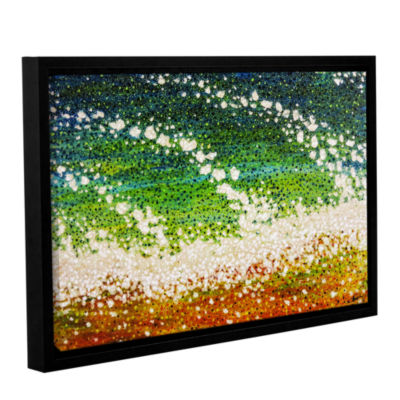 Brushstone Holiday Gallery Wrapped Floater-FramedCanvas Wall Art